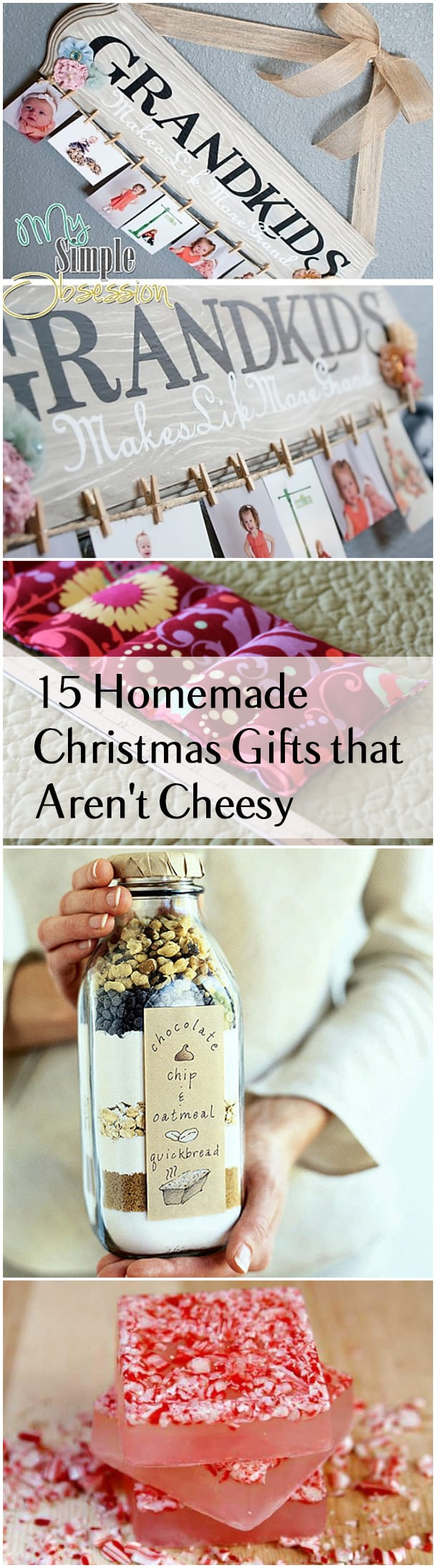 Christmas Craft Ideas For Grandparents Part - 46: 15 Homemade Christmas Gifts That Arenu0027t Cheesy