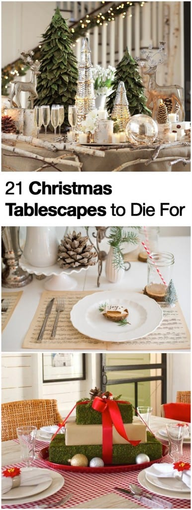 21 Christmas Tablescapes to Die For