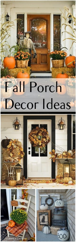 Fall porch, fall porch decor, porch decor, popular pin, autumn projects, fall for fall, Halloween decor.