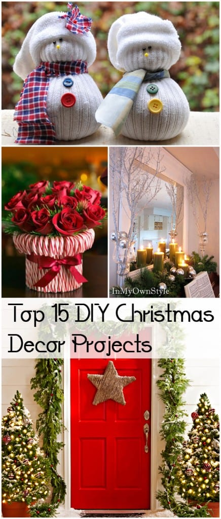Top 15 DIY Christmas Decor Projects