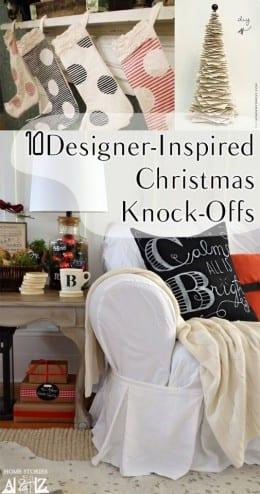 10 Desinger Inspired Christmas Knockoffs