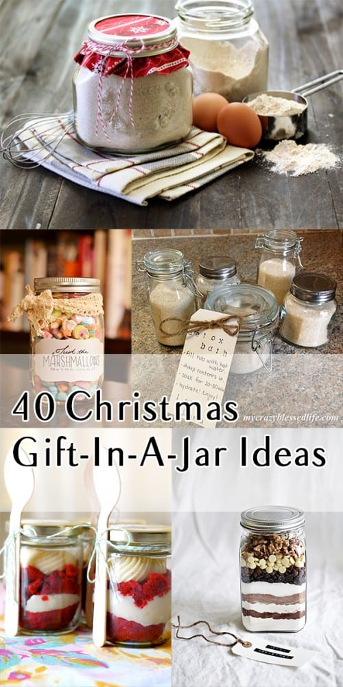 40 Christmas Gift-In-A-Jar Ideas