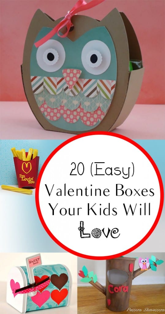 20 (Easy) Valentine Boxes Your Kids Will Love (1)