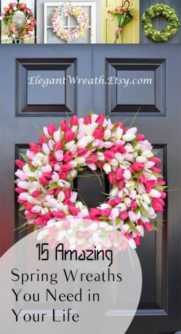 15 Amazing Spring Wreaths You Need in Your Life