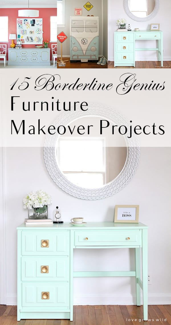 Furniture projects, genius furniture projects, DIY projects, DIY home, popular pin, furniture flips, thrift store shopping, how to flip furniture.