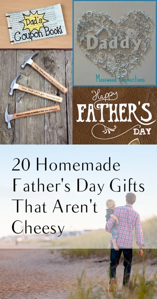20 Homemade Father's Day Gifts That Aren't Cheesy