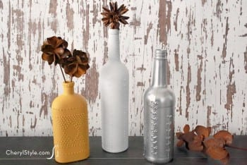 Wine Bottles. DIY, DIY home projects, home décor, home, dream home, DIY. projects, home improvement, inexpensive home improvement, cheap home DIY, repurpose projects.