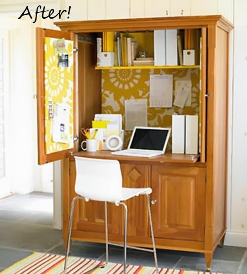 22 Ridiculously Clever Recycled Entertainment Center Projects
