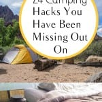 Camping hacks, outdoor camping hacks, camping, popular pin, camping gear, camping recipes, must know camping hacks, camping tips, things to bring camping, summer, summer activities.