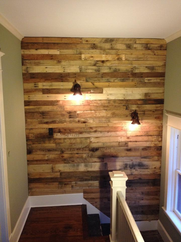 How to Make a Pallet Wall (in One Weekend!)