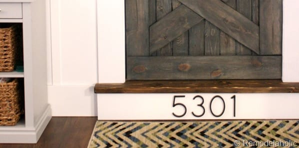 11 Creative Ways to Show Off Your House Number