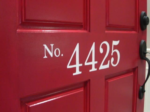11 Creative Ways to Show Off Your House Number2