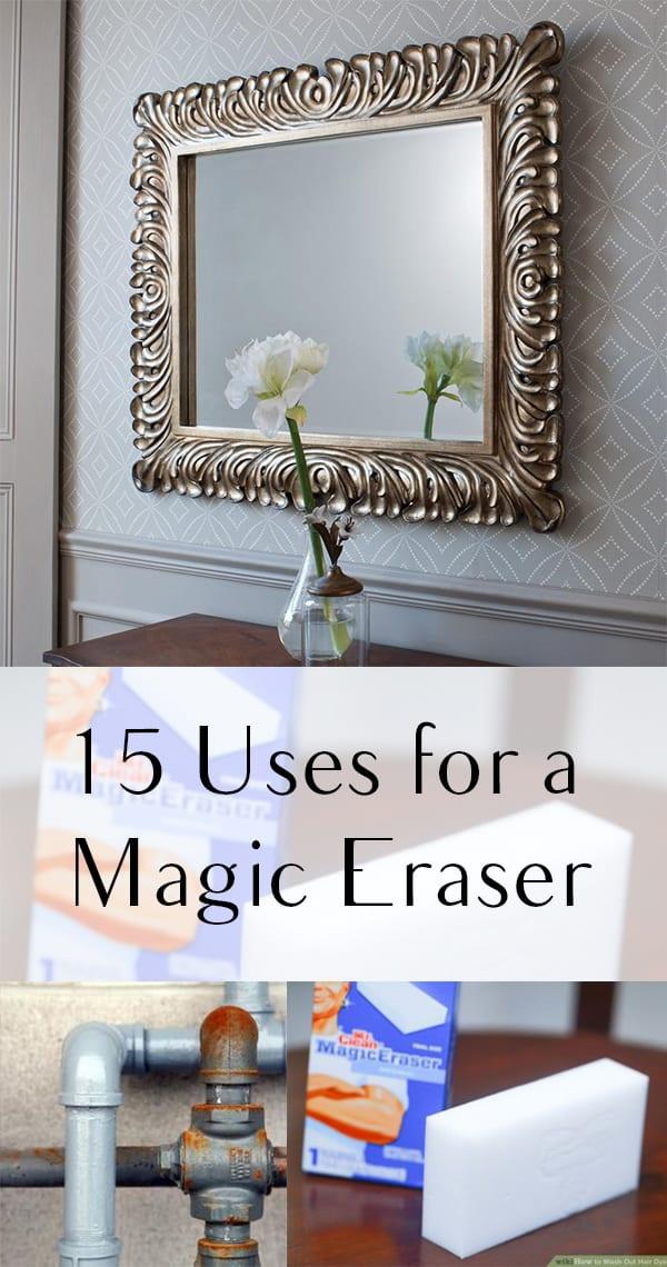 Magic eraser, magic eraser hacks, cleaning tips, cleaning hacks, popular pin, magic eraser tips, things to do with a magic eraser, life hacks.eraser hacks, popular pin, unique uses for magic erasers, cleaning hacks, cleaning tips.