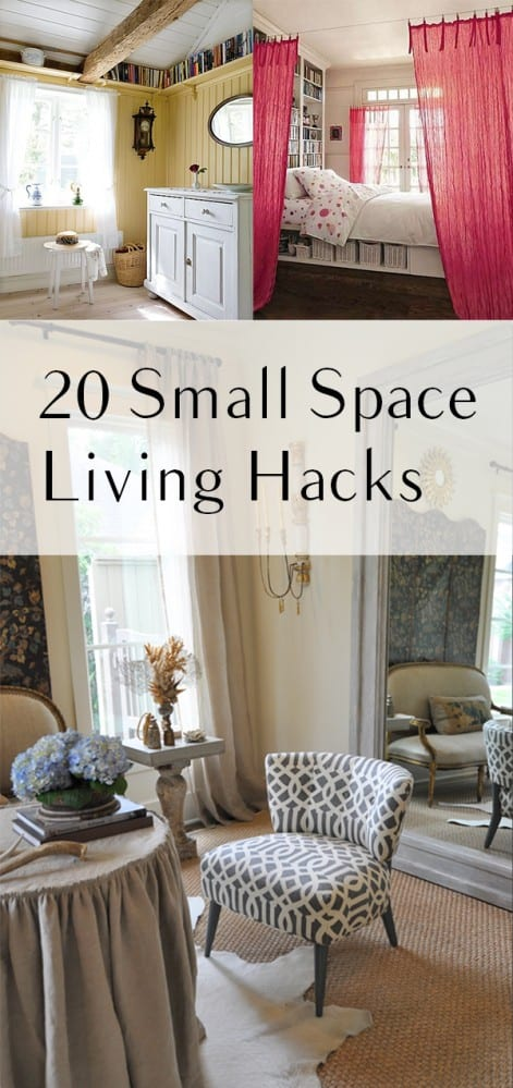 20 Small Space Living Hacks