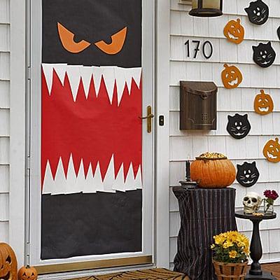 Halloween Door Decor, Halloween Door Hangers, Halloween Door Signs, Halloween Decor, Halloween Decor Ideas, Halloween Decorations Easy