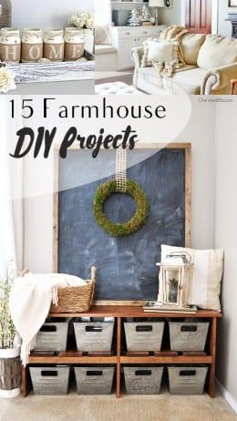 Farmhouse decor, DIY farmhouse decor, easy farmhouse interior decorations, DIY projects, popular pin, DIY home decor, easy home decor