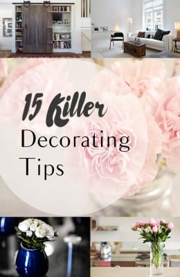 15 Killer Decorating Tips (1)