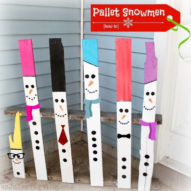 10 Perfect Christmas Decorations (Made from Pallets ...
