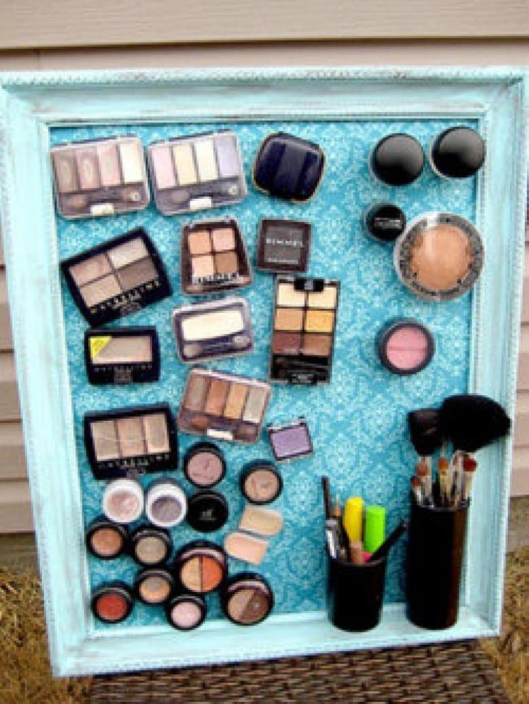 Life hacks, tips, tricks, home hacks, makeup tips, storage hacks, popular pin,