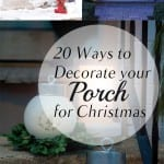 Christmas, Christmas porch decor, DIY porch decor, holiday decor, popular pin, DIY home decor.