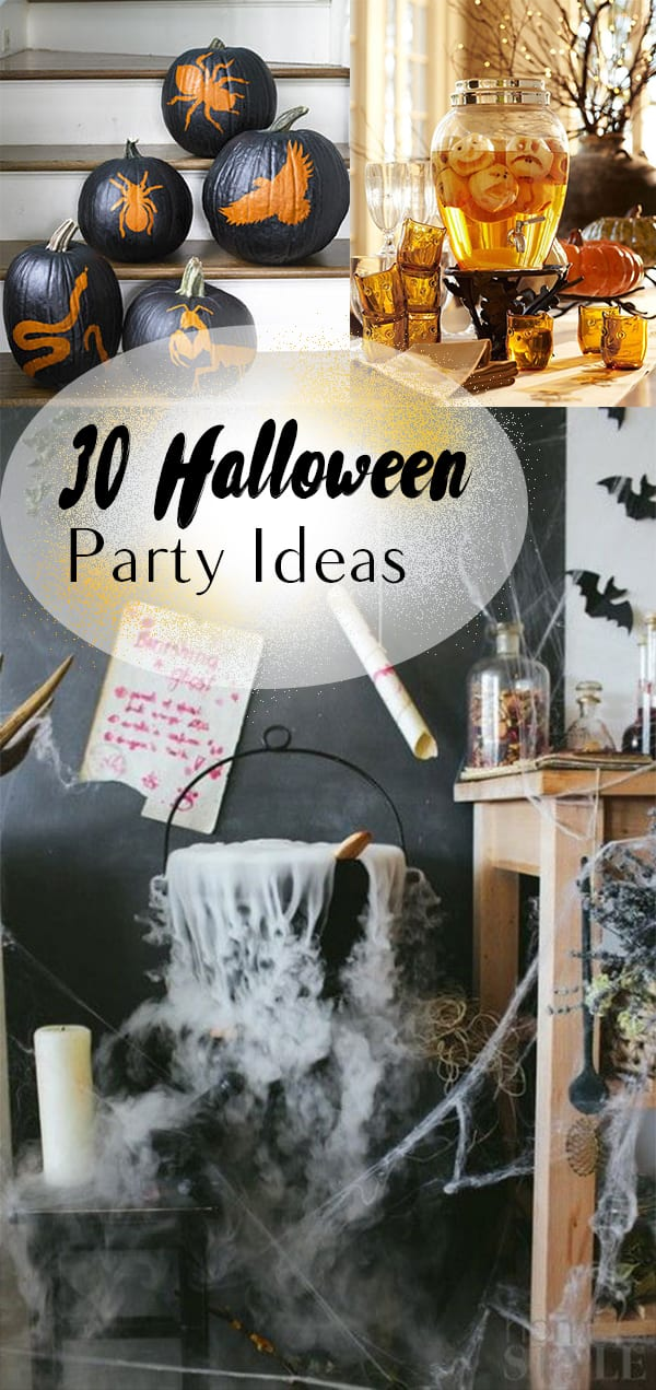 30 halloween party ideas how to build it Diy halloween party decorations