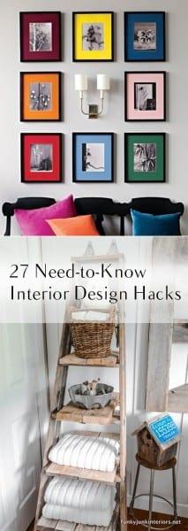 27 need to know interior design hacks how to build it - Home interior designs hacks ...