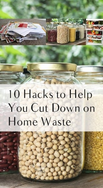 Home waste, cutting down on home waste, popular pin, life hacks, home organization tips, home organization hacks, clutter free living.