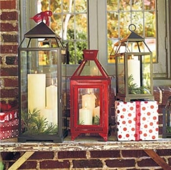 23 Stunning Christmas Lantern Decorations To Brighten Up The - Best Resume Collection