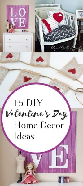 15 Diy Valentine S Day Home Decor Ideas How To Build It