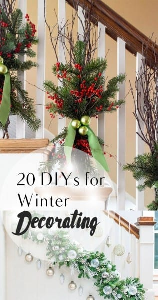 DIY Decorating, EAsy Ways to Decorate for Winter, Christmas Decor, Easy Holiday Decor Ideas, Simple Christmas Decor Ideas, Easy Christmas DIY, Popular Pin, Homemade Holiday Decor
