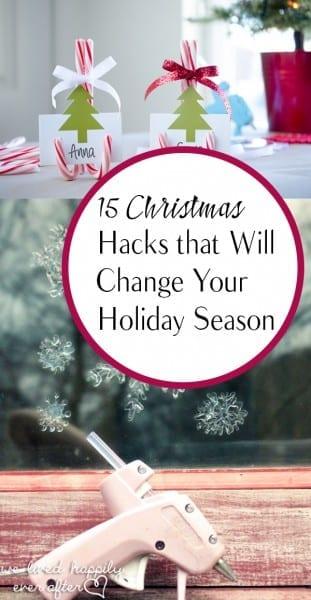 Christmas Hacks, Holiday Hacks, Money Saving Holiday Hacks, Tips and Tricks, Life Hacks, Popular Pin