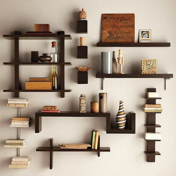 10 DIY Floating Shelf Projects7