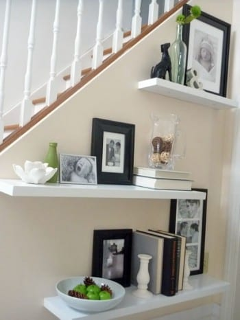 10 DIY Floating Shelf Projects8