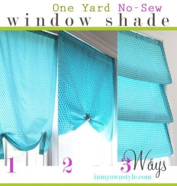 8 No Sew Curtain Projects (Tutorial Included!)5