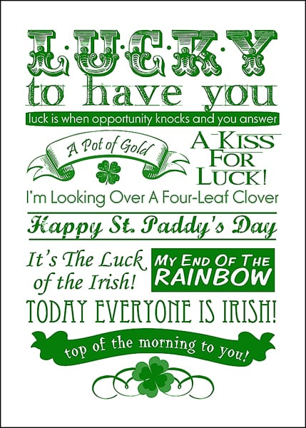 Free Printables, Free Holiday Printables, Printables, St, Patricks Day Printables, DIY Home, Home Decor, St. Patricks Day, St. Patricks Day Decor, Holiday Decor, DIY Holiday Decor, DIY St.Patricks Day, Popular Pin.