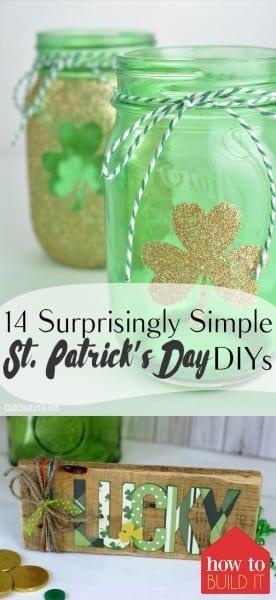 St. Patricks Day, St.Patricks Day DIYs, Easy St. Patricks Day DIYs, St. Patricks Day Recipes, Spring, Spring Decor, DIY Spring Decor, DIY St Patricks Day Decor, Spring Porch Decor, Popular Pin