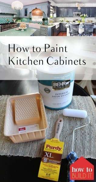 Paint Kitchen Cabinets, How to Paint Kitchen Cabinets, Kitchen Cabinet Remodel, Easy Kitchen Remodel, Easy Ways to Remodel Your Kitchen, Cheap Kitchen Remodel