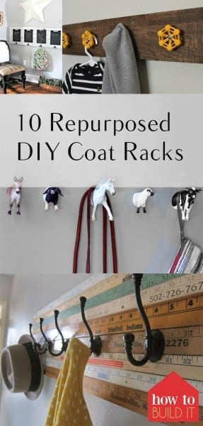Coat Racks, Repurposed Coat Racks, Inexpensive Coat Racks, DIY Coat Racks, DIY Home Decor, Home Decor for Less, Cheap Home Decor, Coat Rack Projects, Coat Rack Craft Projects, Simple Craft Projects, Easy Craft Projects, Popular Pin