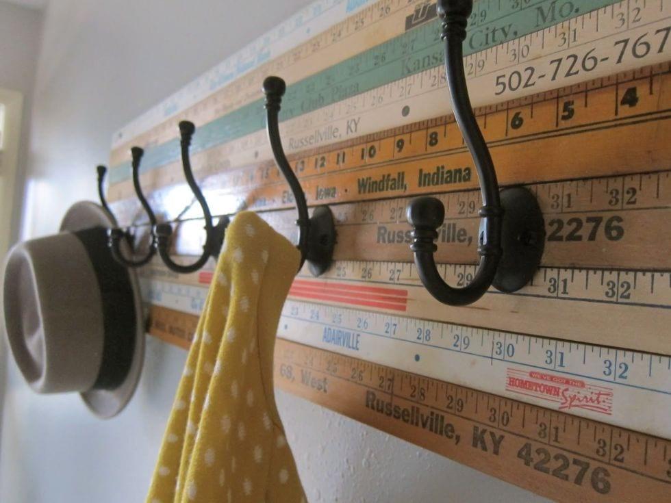 10 Repurposed DIY Coat Racks