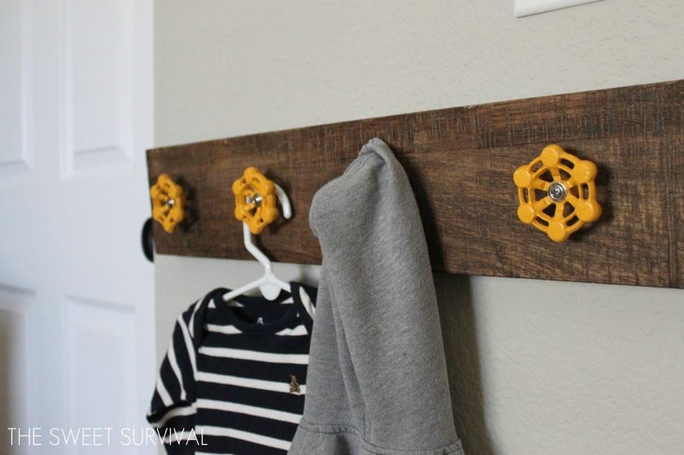10 Repurposed DIY Coat Racks2