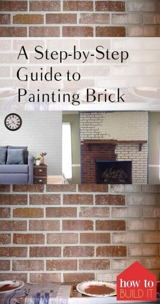 A Step-by-Step Guide to Painting Brick  How to Paint Brick, How to Improve Your Home, Fast Home Improvement Projects, Quick Home Improvement Projects, Painting Projects, How to Paint Brick, Painting Brick Tutorials