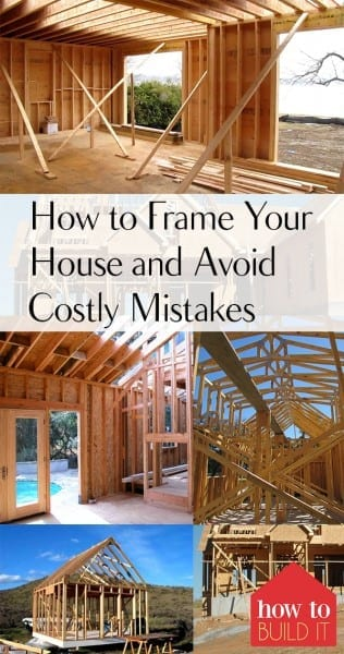 How to Frame Your House and Avoid Costly Mistakes – How To Build It| How to Frame Your House, DIY Home, DIY Home Improvement, DIY Home Remodeling, Home Remodeling Tips and Tricks, Fast Ways to Improve Your Home, Popular Pin