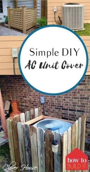 Simple DIY A/C Unit Cover – How To Build It| Air Conditioning Cover, DIY AC Cover, AC Cover, DIY Home, DIY Home Projects, Outdoor Living, Outdoor DIY Projects, Simple DIY Projects, Yard and Landscaping Tips, Popular Pin