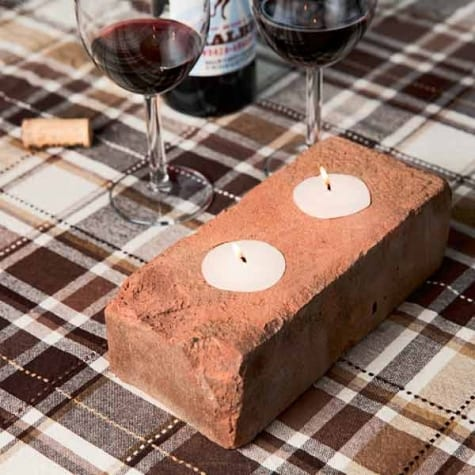 Genius Ways to Use Old Bricks Throughout Your Home  How to Decorate With Old Bricks, Decorating With Old Bricks, DIY Home, Repurpose Projects, Easy Recycling Projects, How to Repurpose Old Bricks, Popular Pin