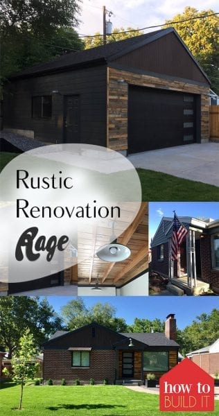 Rustic Renovation Rage| Rustic Home Remodel, DIY Home Remodel, Home Decor, Rustic Home Remodeling Tips, Home Improvement, Home Improvement Hacks, Popular Pin