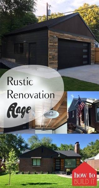 Rustic Renovation Rage| Rustic Home Remodel, DIY Home Remodel, Home Decor, Rustic Home Remodeling Tips, Home Improvement, Home Improvement Hacks, Popular Pin