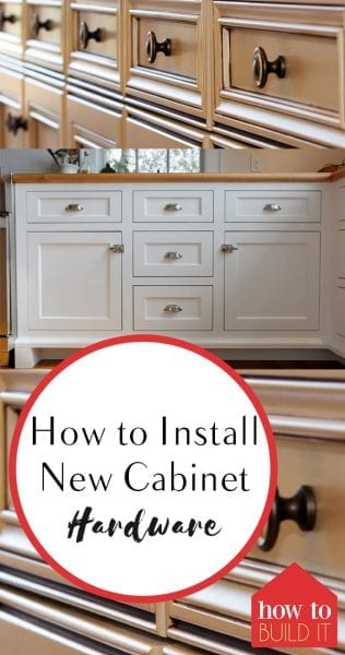 T How to Install New Cabinet Hardware, Installing New Cabinet Hardware, DIY Home, DIY Home Hacks, Home Improvements, Quick and Easy Home Improvements, Home Improvement Hacks, Popular Pin