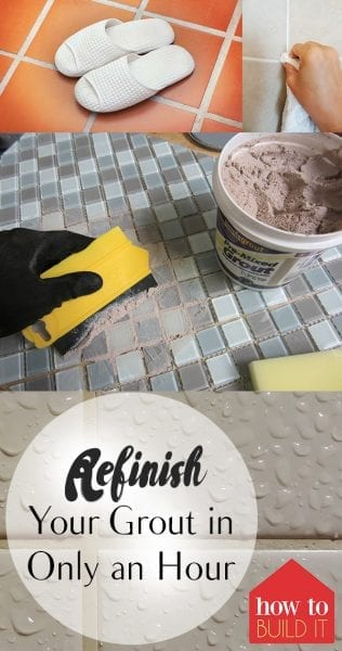 Refinish Tile Grout, Tile Grout, How to Refinish Tile Grout, Bathroom, Bathroom DIY, Home Improvement, Home Improvement Ideas, Home Improvement Projects