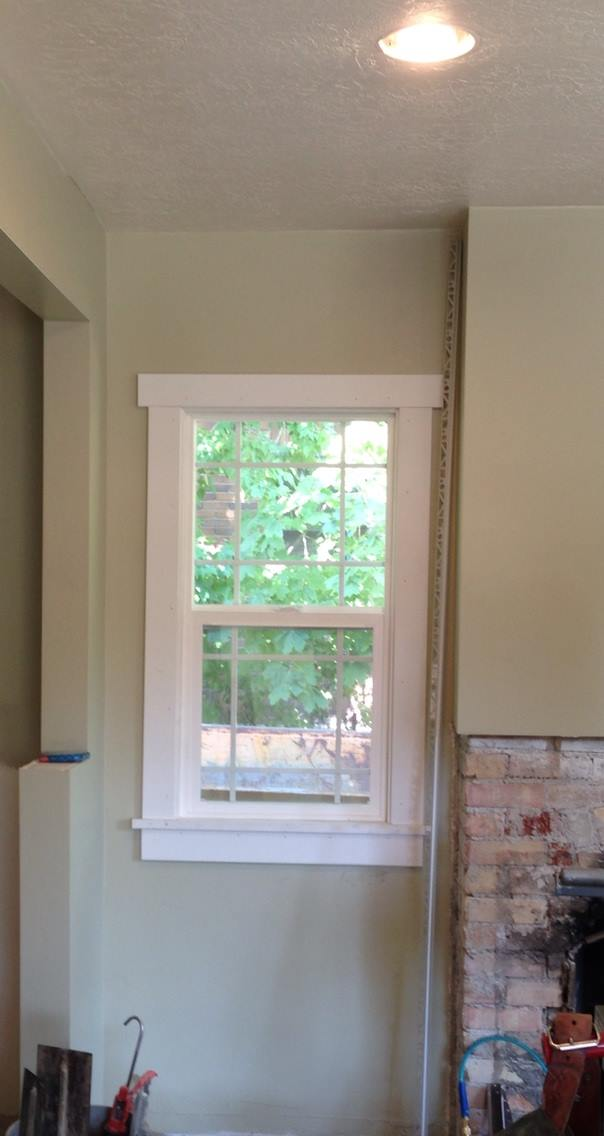 window casing-home projects