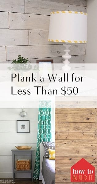 How to Plank A Wall, Simple Ways to Plant a Wall, Easily Plank a Wall, DIY Home, DIY Home Improvements, Home Improvement Hacks, Home Improvement DIYs, Plank A Wall, Simple Ways to Plank a Wall, Popular Pin